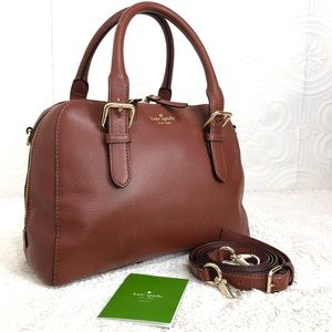 🌸OFFERS?🌸 Kate Spade Cinnamon Leather Bag